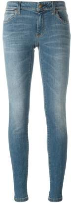 Burberry Skinny Low-Rise Vintage Wash Jeans