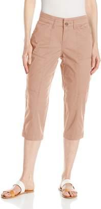 Lee Women's Relaxed Fit Brenna Knit Waist Capri Pant