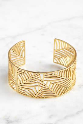 Ashiana London Filigree Narrow Cuff Bracelet