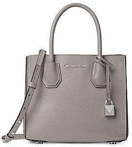 MICHAEL Michael Kors Women's Mercer Medium Leather Messenger Bag