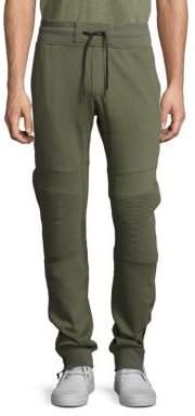 Madison Supply Cotton-Blend Ankle-Zip Sweatpants
