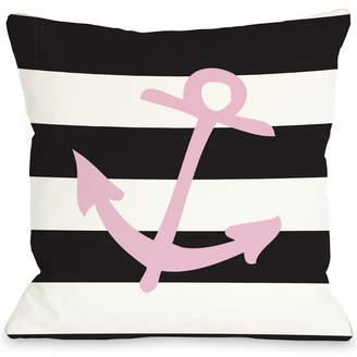 One Bella Casa Anchor Decorative Pillow