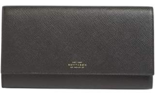 Smythson 'Panama Marshall' Travel Wallet
