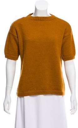 Mansur Gavriel Short Sleeve Mohair Sweater w/ Tags