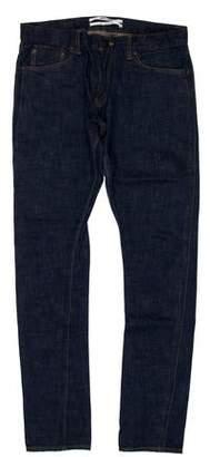 Robert Geller Contrast Skinny Jeans