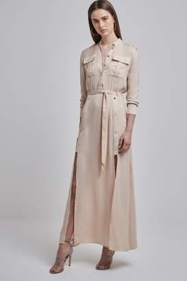 Finders Keepers MAYNARD SHIRT DRESS sand