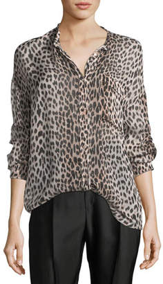 Giada Forte Savage Vanity Silk Oversized Shirt