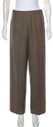 Hermes Virgin Wool High-Rise Pants