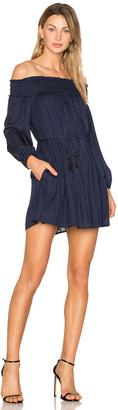 Line & Dot Desi Off the Shoulder Dress $78 thestylecure.com