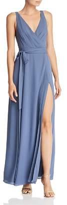 Fame & Partners Dinah Wrap Gown