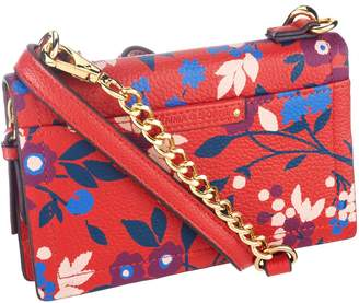 Emma & Sophia Printed Leather Crosby Phone/Wallet Crossbody Bag