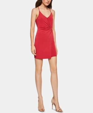BCBGeneration Adjustable Twist-Detail Sheath Dress