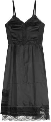 Marc Jacobs Satin Dress with Lace
