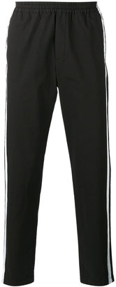 MSGM side stripe track pants $262.89 thestylecure.com