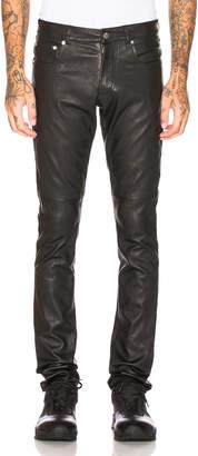 Alyx Leather 5 Pocket Jean