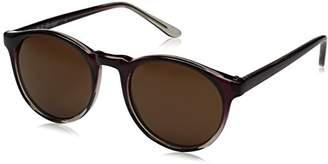 A. J. Morgan A.J. Morgan Grad School Round Sunglasses