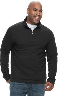 Van Heusen Big & Tall Flex Classic-Fit Quarter-Zip Sweater