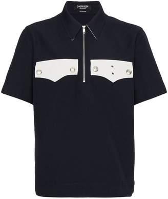 Calvin Klein Half Zip Pocket Shirt