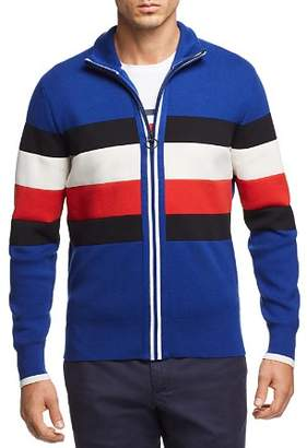 Tommy Hilfiger Striped Zip Sweater