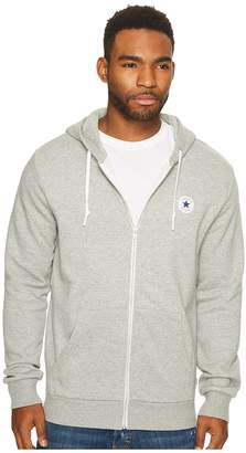 Converse Core Fleece Full Zip Hoodie Men's Sweatshirt