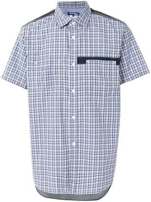Junya Watanabe plaid short-sleeve shirt