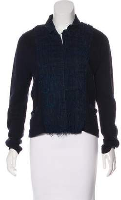 Magaschoni Casual Knit Jacket