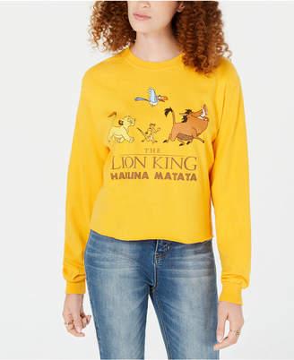 Mighty Fine Juniors' Cotton Hakuna Matata Graphic-Print T-Shirt