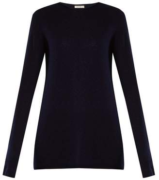 The Row Nolita Cashmere Sweater - Womens - Navy