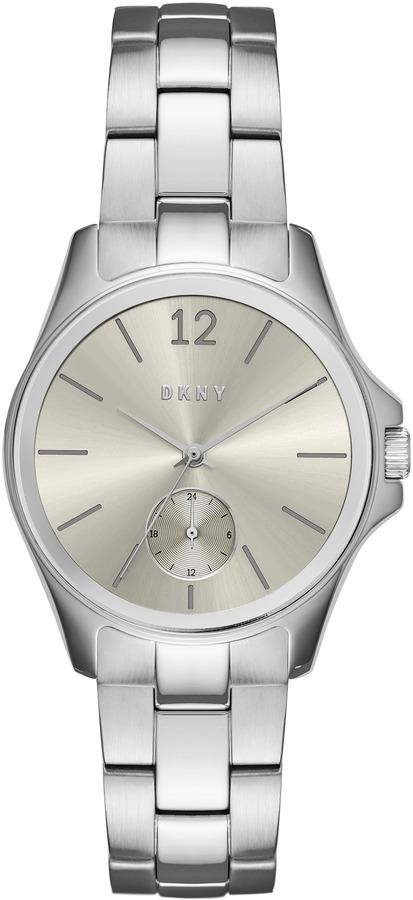 DKNYEldridge Gray Dial Stainless Steel Watch