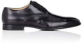 Barneys New York Men's Plain-Toe Bluchers-Black