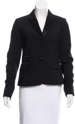 AllSaints Wool Peak-Lapel Blazer