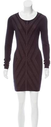 Torn By Ronny Kobo Striped Knit Dress w/ Tags