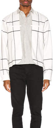 Haider Ackermann Double Layer Shirt in Machoi White | FWRD