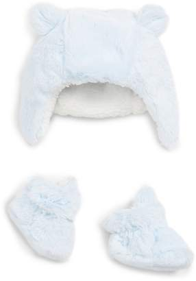 Nordstrom Faux Fur Hat & Bootie Set