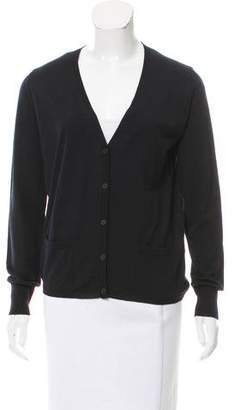 Bottega Veneta Wool Button-Up Cardigan