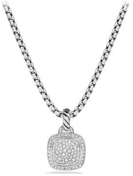 David Yurman Albion Pendant With Diamonds, 11Mm