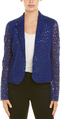 Akris Silk-Trim Cardigan