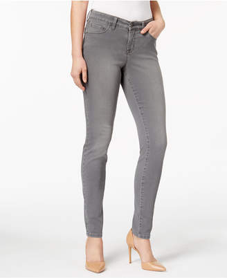 Style&Co. Style & co. Petite Curvy-Fit Skinny Jeans, Colored Wash