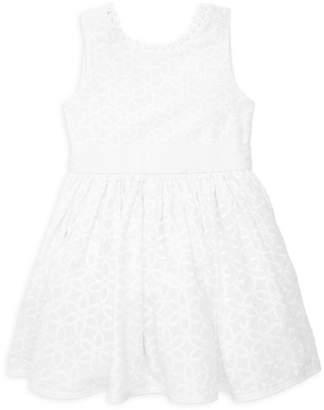 Isabel Garreton Little Girl's Eyelet-Trimmed Floral Dress