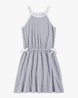 Splendid Girl Diagonal Stripe Dress