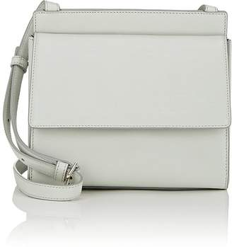 Calvin Klein Women's Foldover Leather Crossbody Bag