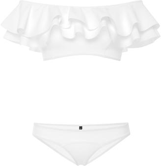 Mira Ruffled Off-The-Shoulder Bikini