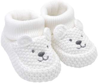 Carter's Baby Polar Bear Crochet Booties