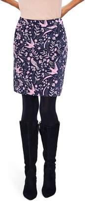 Boden Mimi Velvet Skirt