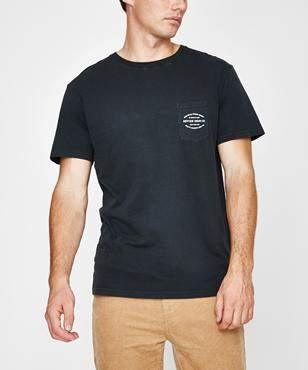 rhythm Pocket T-shirt Dusted Charcoal