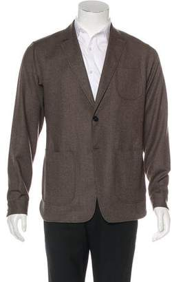 Z Zegna Deconstructed Wool Shirt Jacket w/ Tags