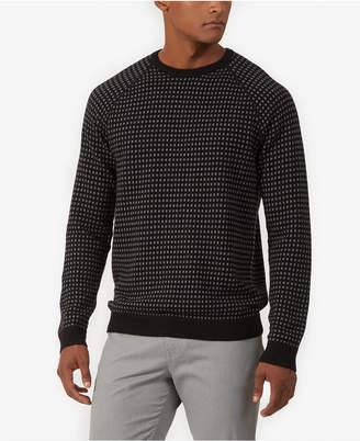 Kenneth Cole Men's Alternative City Grid Sweater