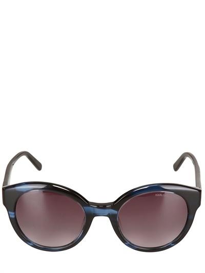 Karl Lagerfeld Round Acetate Sunglasses