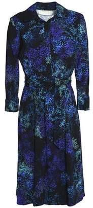 Goat Floral-Print Crepe Dress