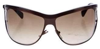 Saint Laurent Shield Tinted Sunglasses